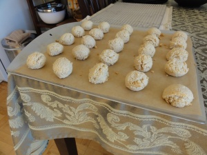 Baked macaroons