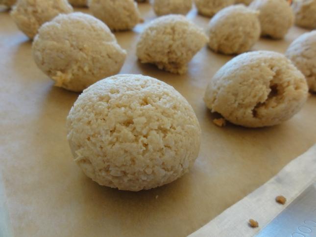 Maple Coconut Macaroons closeup