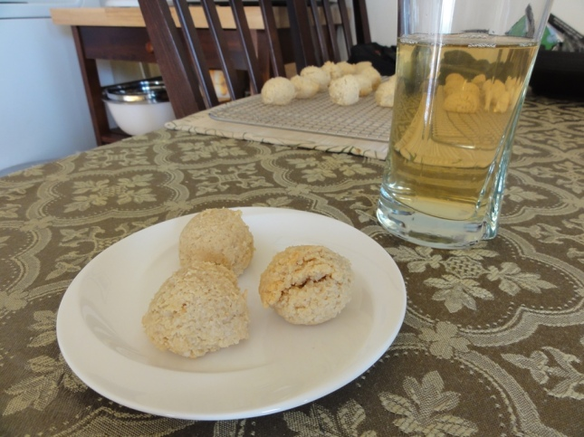 Coconut Macaroons and Tropical Iced Tea