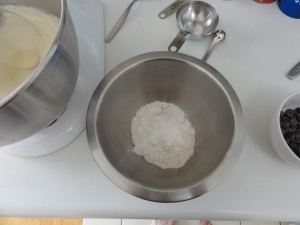 Pre-mixing the dry ingredients