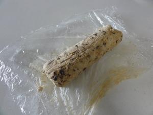 Frozen oat chocolate chip cookie dough