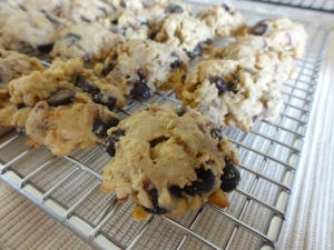 More baked frozen oat chocolate chip cookies