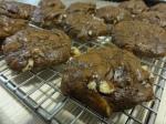 Double chocolate macadamia cookies