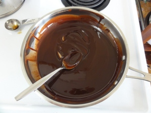 Chocolate, coconut oil, and maple syrup
