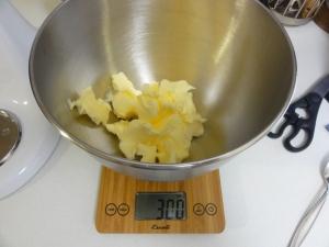 300g butter