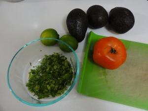 Chopped cilantro