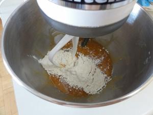 Adding dry to wet