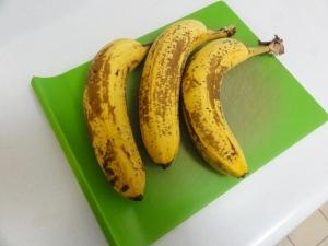 A trio of bananas